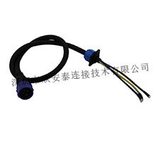 LED防水插头连接器