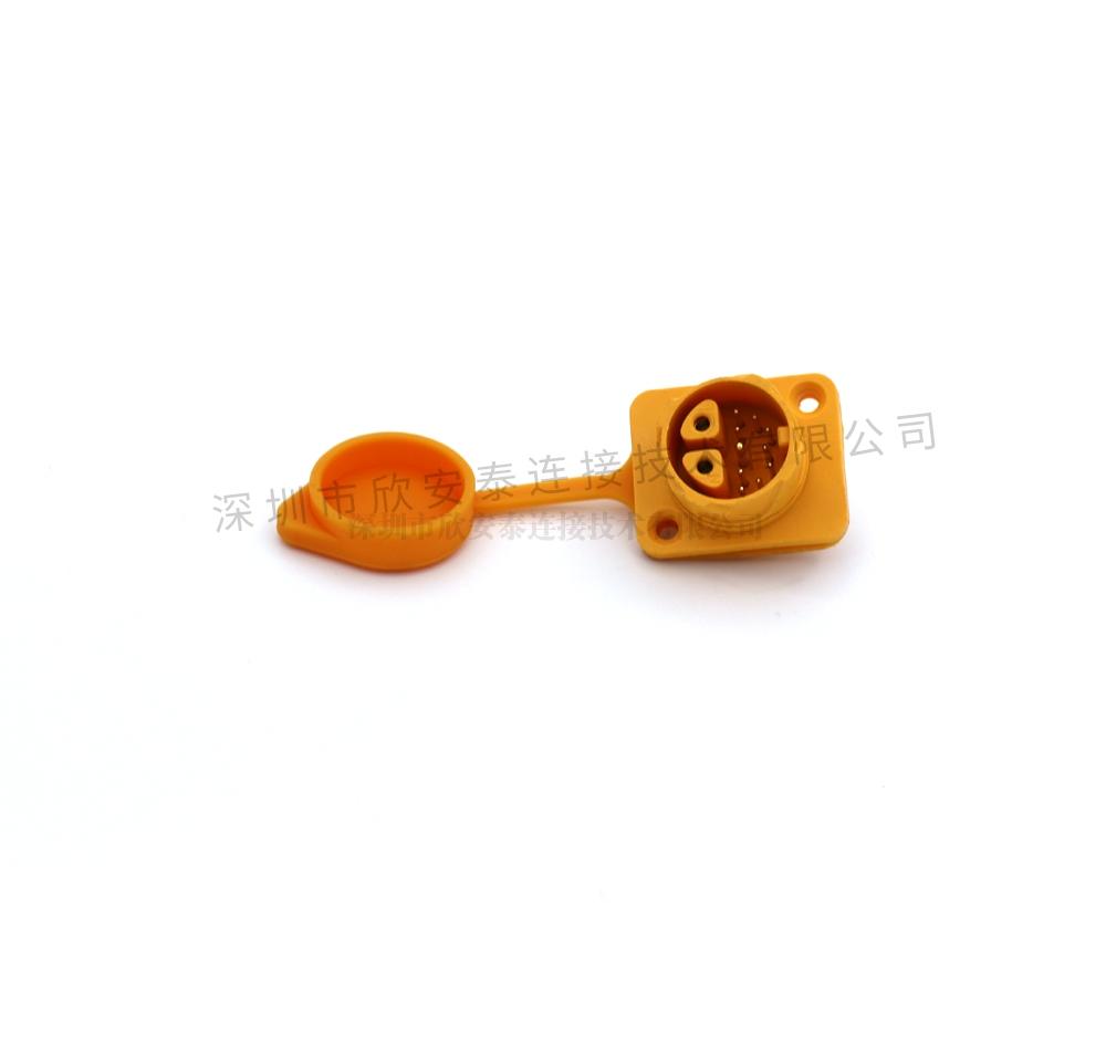 3+9信号组合自锁连接器